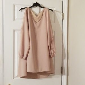 Mittoshop oversize beige dress